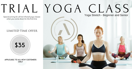 Hot Yoga Promotion - Trial Class